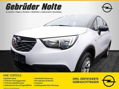 gebraucht Opel Crossland X 1.2 Edition Turbo SHZ INTELLILINK