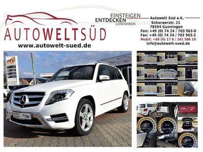 gebraucht Mercedes GLK350 CDI 7G 4M AMG Sportpaket 360 AHK ElHeck