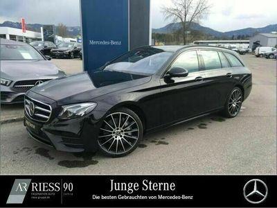 gebraucht Mercedes E400 4M T AMG+Comand+Fahrassist.+Pano.-Dach