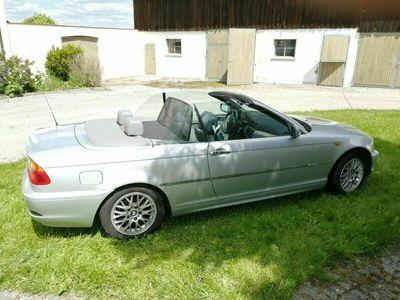gebraucht BMW 318 Cabriolet Verkaufe Ci E46 Facelift