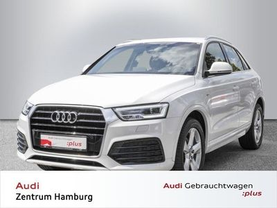gebraucht Audi Q3 1,4 TFSI sport S tronic S LINE NAVI LED