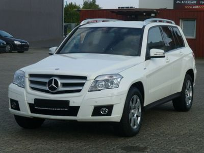 gebraucht Mercedes GLK220 CDI DPF BlueEFFICIENCY-Leder-Klima-AHK