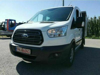 gebraucht Ford Transit Doka Pritsche 7 Sitzer 2.0TDCI 96kw E6
