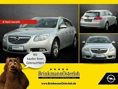 gebraucht Opel Insignia Insignia1.6T EDITION AHK/KLIMA/TEMPOMAT/DACHRE.