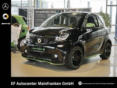 gebraucht Smart ForTwo Electric Drive coupe greenflash prime Navi LED+Sensor