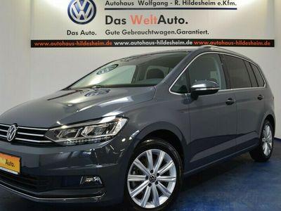 gebraucht VW Touran Highline 1.5l TSI OPF, LED, 7-Sitzer, Standheizung, App-Connect DAB+,SHZ