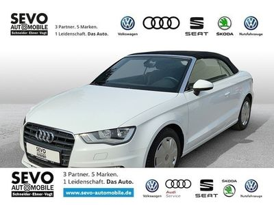 gebraucht Audi A3 Cabriolet 1.4 TFSI S-tronic Ambition KLIMA LM, PDC