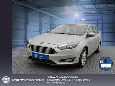 gebraucht Ford Focus Turnier Titanium Navi Sitzhzg PDC