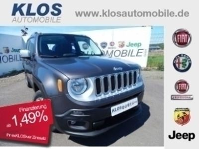 gebraucht Jeep Renegade LIMITED 1.4l MULTIAIR 2WD 140PS PDC