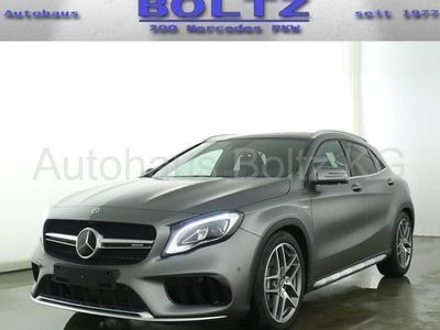 gebraucht Mercedes GLA45 AMG AMG 4M Comand Vollleder Pano Distronic