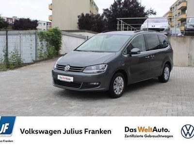 gebraucht VW Sharan 1.4 TSI DSG 7 Sitzer Navi Side+Lane Ass 3J Klima