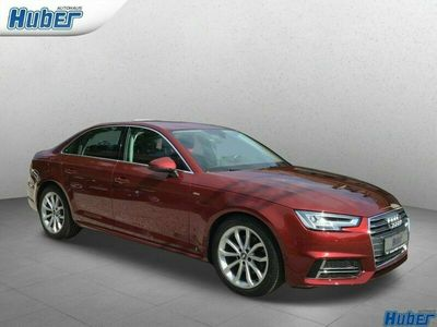 gebraucht Audi A4 S line 1.4 TFSI S-tronic LED Navi Teilleder