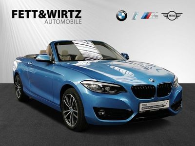 gebraucht BMW 220 d Cabrio Sport Line