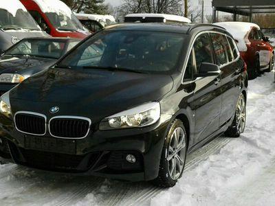 gebraucht BMW 220 2 Gran Tourerd*Navi*Leder*7 Sitzer *M Sport als Van/Kleinbus in München