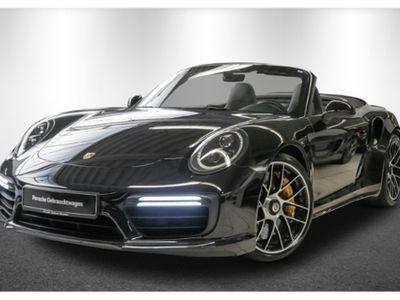 gebraucht Porsche 911 Turbo S Cabriolet 991 LED Navi Klimasitze