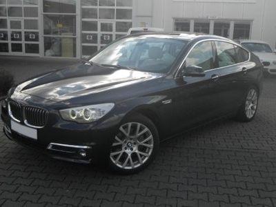 gebraucht BMW 535 Gran Turismo d A xDrive GT Luxury Li Leder Navi HUD Allrad Panorama Niveau Holzausst. AHK-kl