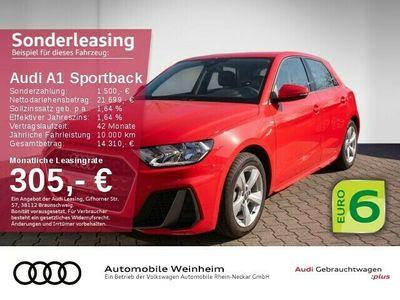 gebraucht Audi A1 Sportback 25 TFSI S-line Digital-Cockpit Sportsitze LM-Felgen uvm