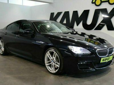 gebraucht BMW 640 640 d Gran Coupé xDrive Steptr. M-Sport +LED+HuD