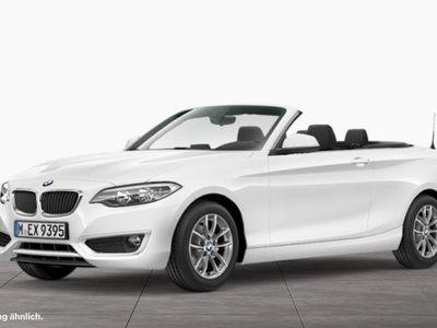 gebraucht BMW 218 i Cabrio Advantage Klima LM-Felgen Tempomat