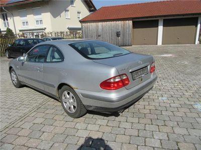 gebraucht Mercedes CLK200 Coupe Elegance AUTOMATIC KLIMA