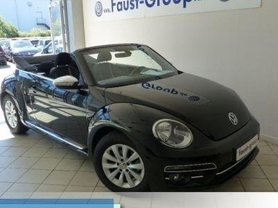 used VW Beetle Cabriolet Design NAVI LICHT-SICHT-PAKET