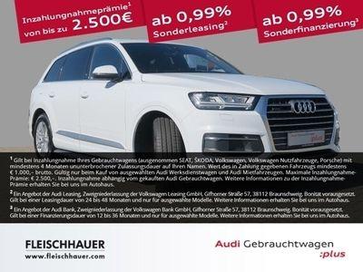 gebraucht Audi Q7 50 TDI quattro 3.0 7-Sitzer Navi Leder LED-Licht