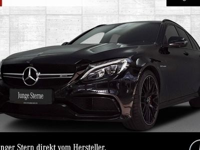 gebraucht Mercedes C63 AMG AMG S T Carbon Driversp PerfAbgas Burmester