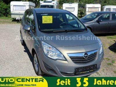 gebraucht Opel Meriva B 1.4 Active PDC Scheckheft Alu
