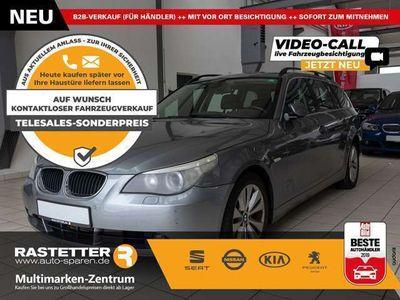 gebraucht BMW 525 d Aut. Navi Xenon Temp AHK Klimaaut LMF Nebel