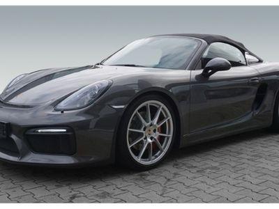 gebraucht Porsche Boxster Spyder ERSTBESITZ