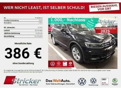 gebraucht VW Tiguan R-Line 2.0TDI DSG 4M #386,-ohne Anzahlung Neu 63.655,-