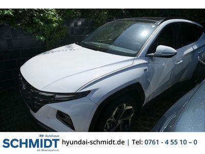 gebraucht Hyundai Tucson Prime Mild-Hybrid 4WD 1.6 T-GDI EU6d Leder LED Navi Keyless Klimasitze e-Sitze