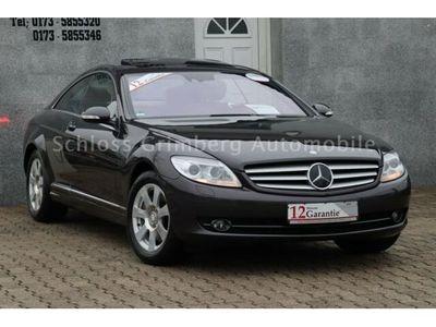 gebraucht Mercedes CL500 COUPE 7G-TRONIC PLUS-EGSD-R.Kamera-ILS