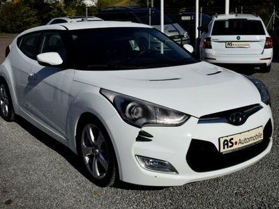 gebraucht Hyundai Veloster Premium blue*NAVI*LEDER*KAMERA*PDC*SHZ*