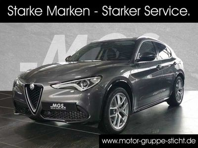 gebraucht Alfa Romeo Stelvio 2.2 Diesel Q4 LUSSO Ti #ASSISTENZ #HARMAN