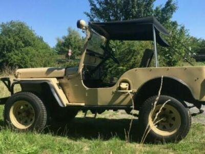 gebraucht Jeep Willys M38 TüV neu