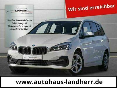 gebraucht BMW 218 Gran Tourer d // Navi/Kamera/ 7-Sitzer als Van/Kleinbus in Thannhausen