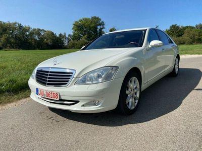 gebraucht Mercedes S500L S -Klasse Lim.Weiß Harman Top Zustand