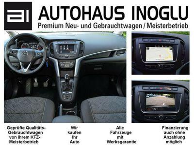 gebraucht Opel Zafira 1.4 T S&S Navi 4.0 IntelliLink/Cam Klimaauto. Alu17 Temp PDC OnStar NSW 7 Sitzer