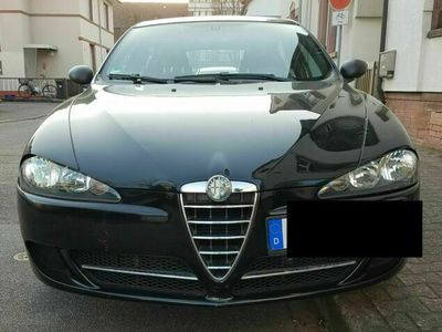 gebraucht Alfa Romeo 147 1.6 TS 16V Bj. 2009, 104.000km, Klima, AHK