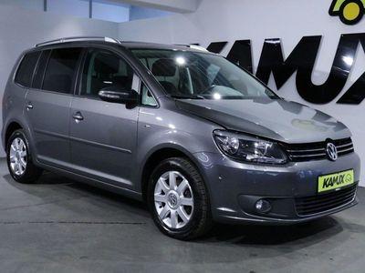 gebraucht VW Touran 1.6TDI Cup +Navi+Park-Assist+Tempomat+