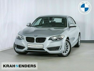 gebraucht BMW 220 d Coupe Klimaautom SHZ Temp Mf-Lenkrad PDC CD AU