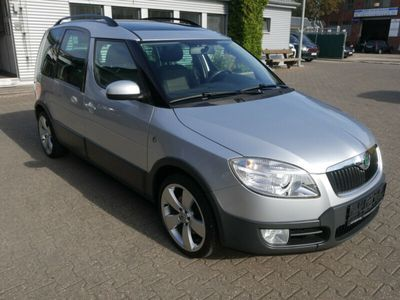 gebraucht Skoda Roomster Scout Plus Edition Auto. Panorama Klima