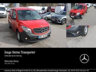 gebraucht Mercedes Citan 109 CDI Klima + Radio + Lang Basic/Zusatzhz.