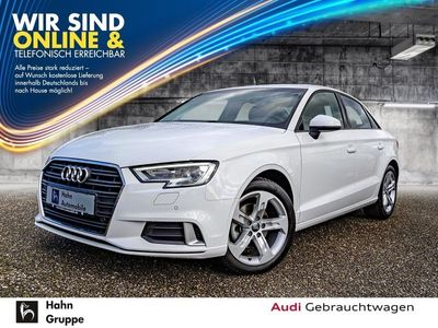 gebraucht Audi A3 Lim. 1.5TFSI EU6 sport Xen Navi Tempo PDC