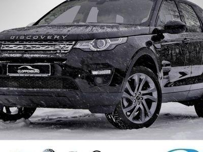gebraucht Land Rover Discovery Sport Si4 SE 7Sitz Navi 20Zoll