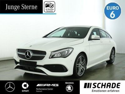 "used Mercedes CLA180 Shooting Brake AMG Line 8""Media-Display*LED*el.-Heck"