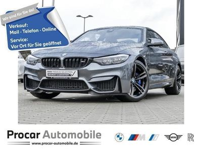 gebraucht BMW M4 Coupe Competition Paket M DKG Navi Prof. PDC