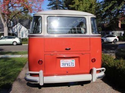 gebraucht samba bus 23 windows perfekte restauration vw t1 1959 km 121 in geldern. Black Bedroom Furniture Sets. Home Design Ideas