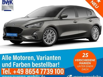 gebraucht Ford Focus TITANIUM (D6) 1.0 EcoBoost MHEV 125 M6